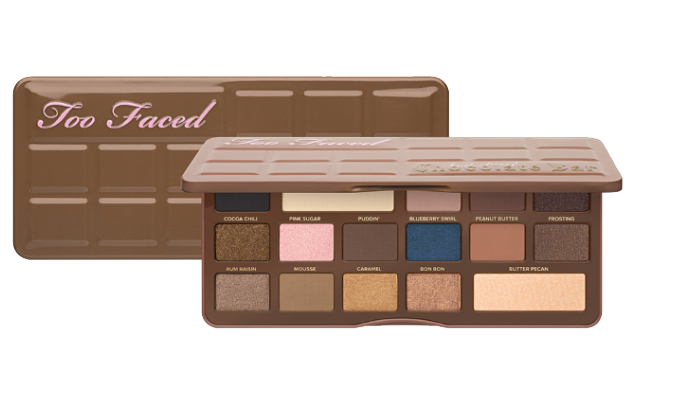 Too Faced Semi-Sweet Chocolate Bar Review & Look